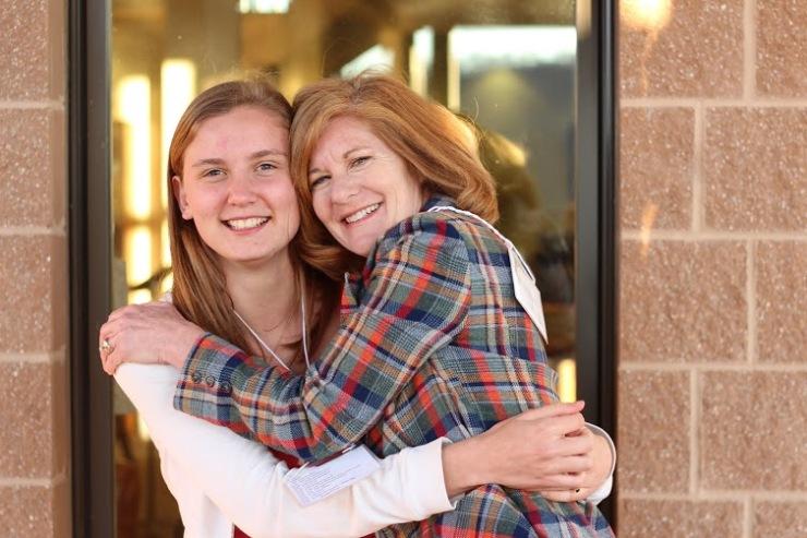 ania and mom