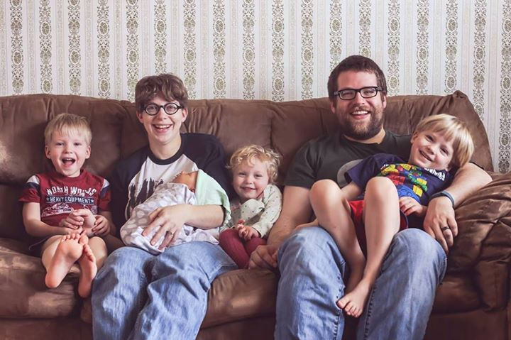Audrey's family