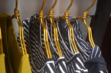 hangers and clothes