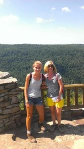 Ania and Me Coopers Rock