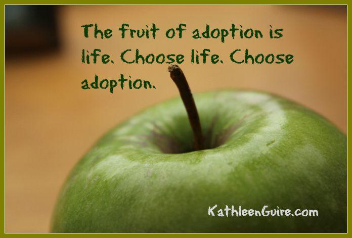 Fruit of adoption
