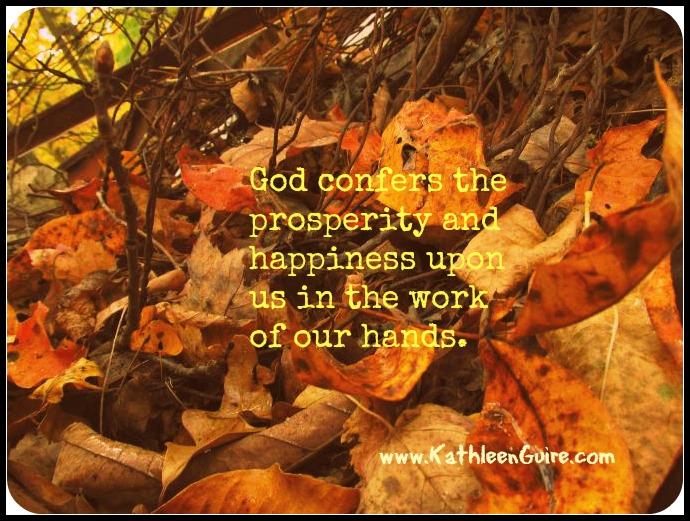 God confers