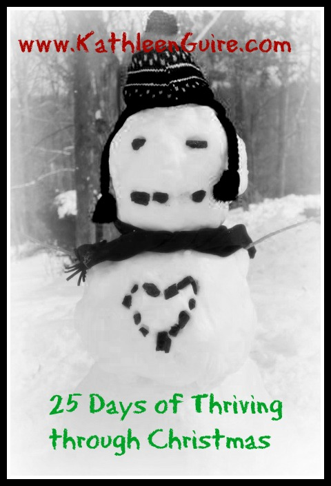 25 Days of Thriving through Christmas