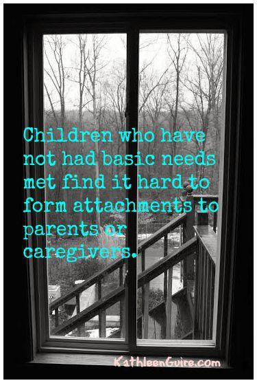 Children who have not had basic needs