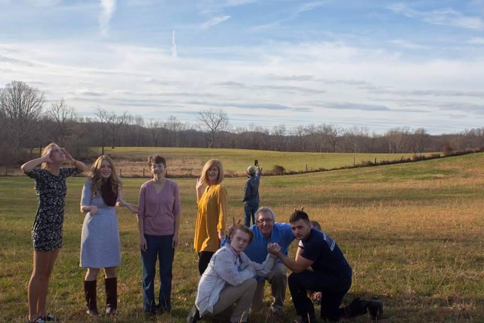 family photo Thanksgiving