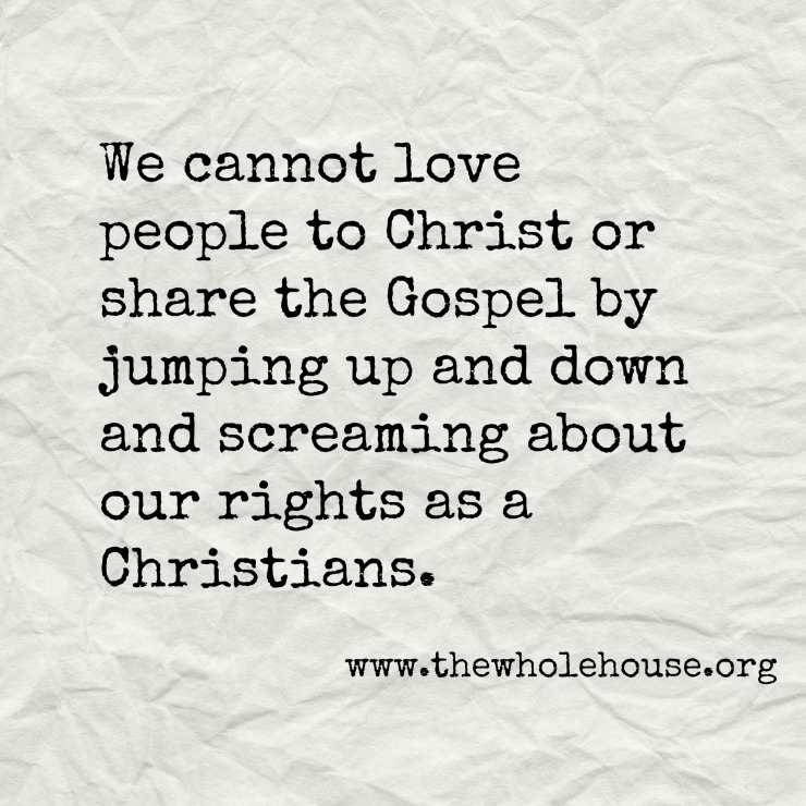 We cannot love